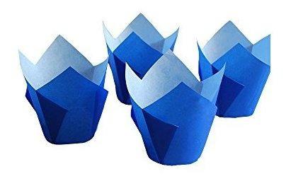 originales grupo royal brown tulip muffin cupcake papel de h