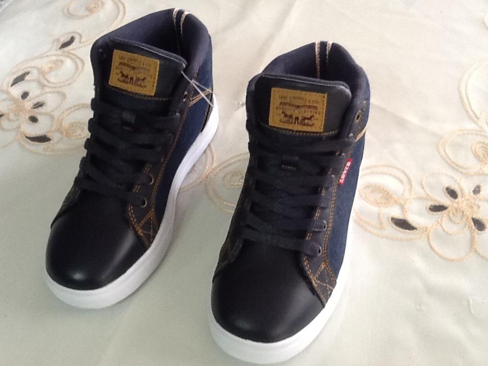 Venta barata 2019 original diseños atractivos Originales Nuevos Zapatos Levis Caña Alta Talla 34