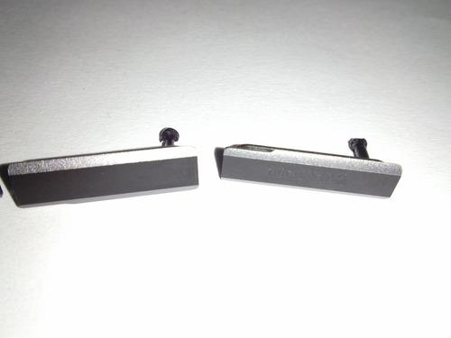 originales tapas puertos xperia z1 negras, blancas, moradas
