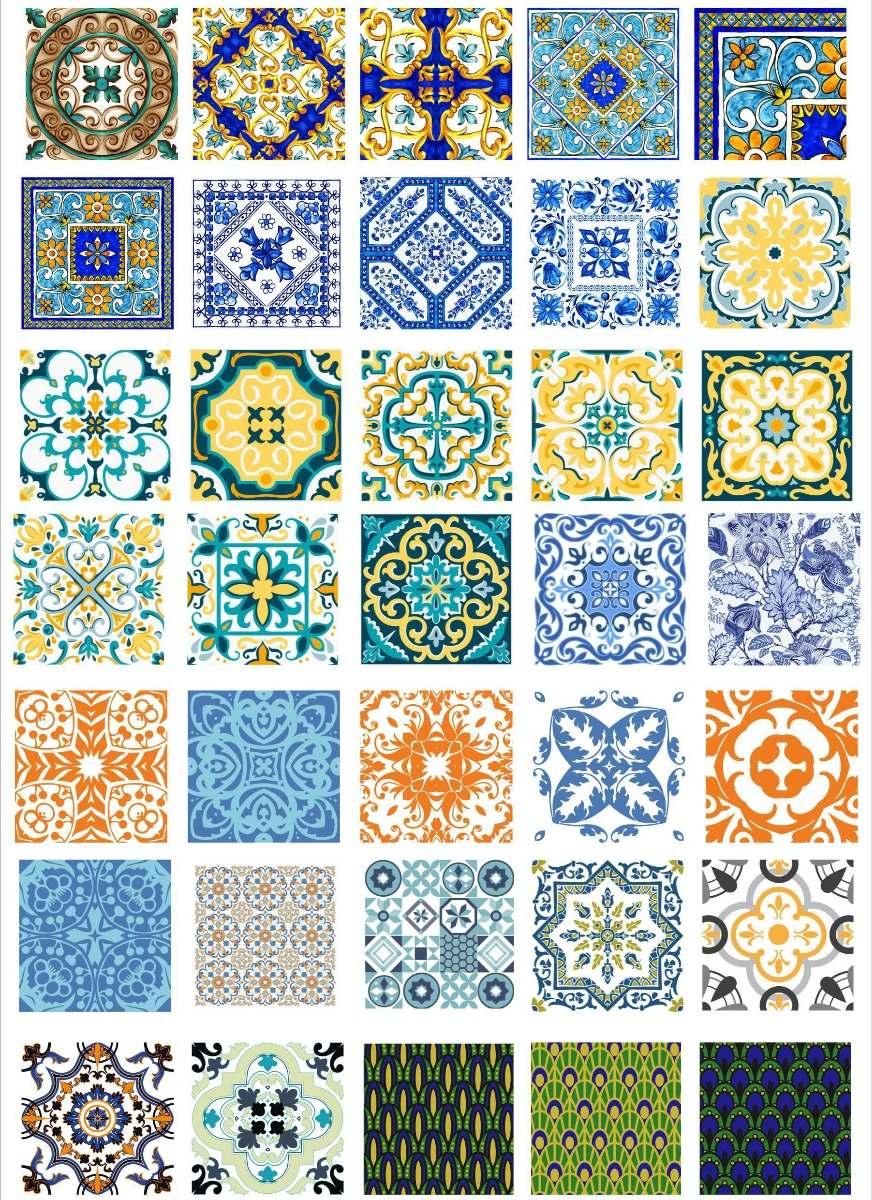 Originales Vectores Azulejos 02 Super Exclusivo 18000 En - Azulejos-originales