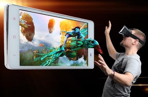 original!gafas visor realidad virtual vr shinecon+control bt