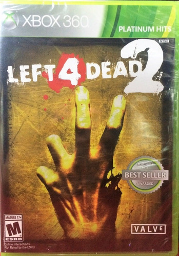 original,left 4 dead 2. xbox 360