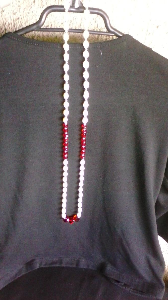 da4ddf51baec Original moderno Collar Nuevo-perlas Río C Piedras-multiuso ...