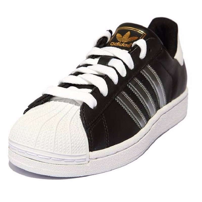 premium selection 9499b e6dfc originals tenis adidas superstar 2 adicolor black   white ro. Cargando zoom.