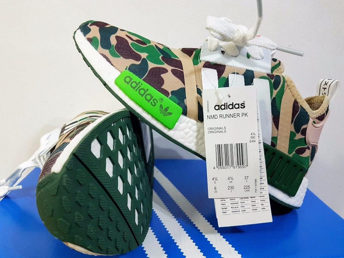 originals tênis adidas nmd r1 bape camuflado verde promoção. Carregando  zoom. 590acb4c729
