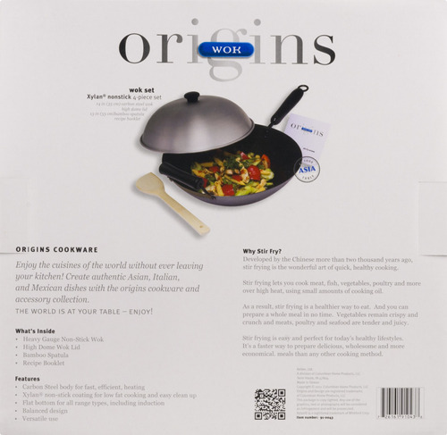 origins orígenes wok set - 4 pc, 4.0 pieza s