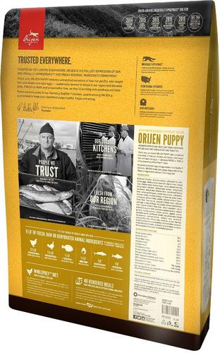 orijen puppy pollo pavo pescado perros cachorros 2.04kg