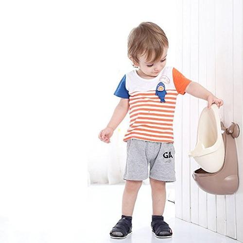 orinal entrenamiento puntería vasenilla portatil niño marrón