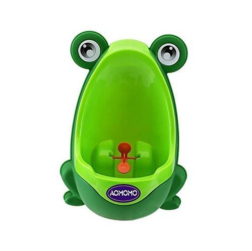 orinal entrenamiento puntería vasenilla portatil niños verde