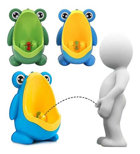 orinal portátil entrenamiento para niño rana con brazos!!!