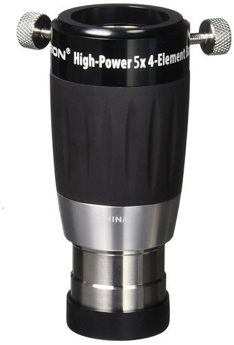 orion 8715high potencia 1,25 pulgadas 4-elemento 5x lente ba