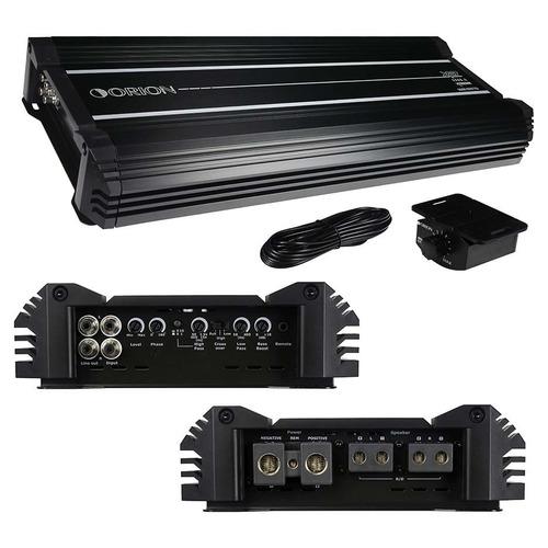 orion - xtr25002 - amplificador xtr de orión 2 canal 2500 v