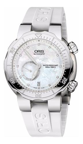 oris divers titan small second, diamonds 64376367191