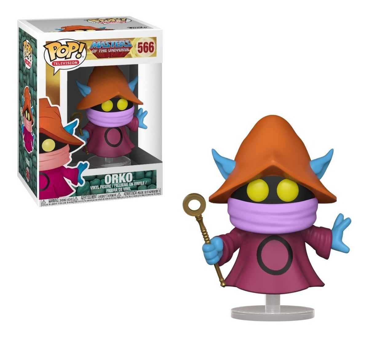 Funko Pop MOTU Orko 21814 POP Vinil  Master of the universe