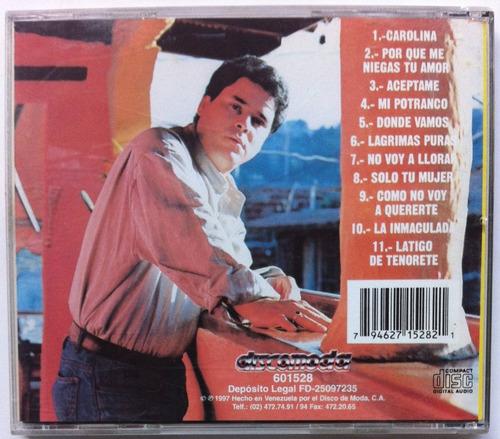 orlando durán. cd original, usado
