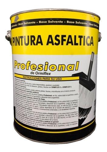 ormiflex pintura asfaltica profesional x 18lts tecnopalermo