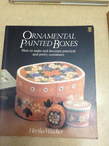 ornamental painted boxes de hertha wascher