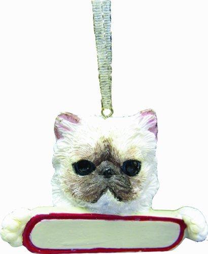 ornamento del gato del himalaya \papá de pals\ con un gran