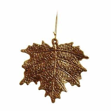 ornamento folha dourada