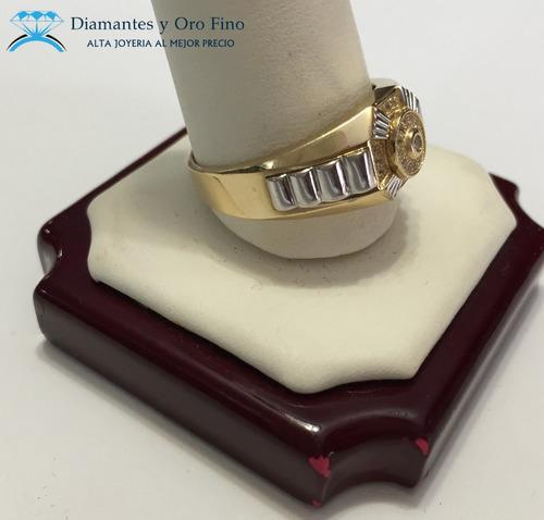 oro con anillo