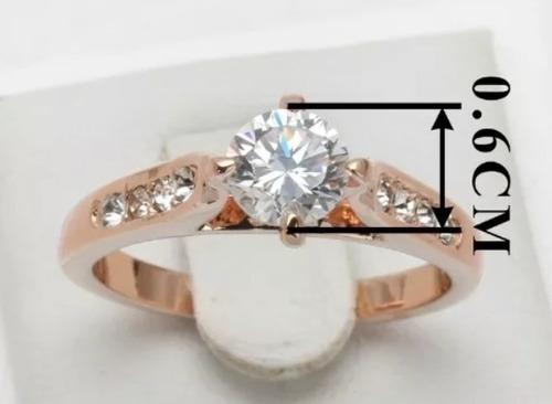 oro cristal anillo