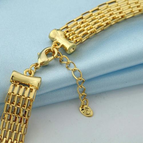 oro cristal. collar
