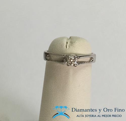 oro diamante anillo