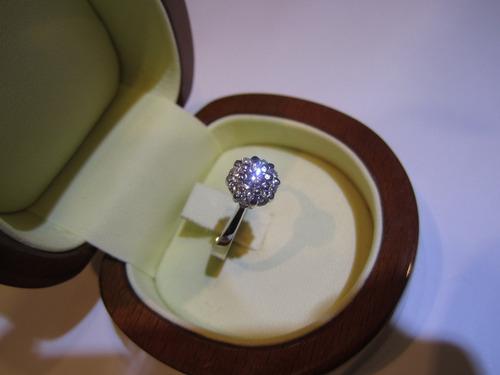 oro diamantes anillo