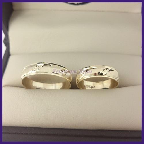 oro oro argollas matrimonio