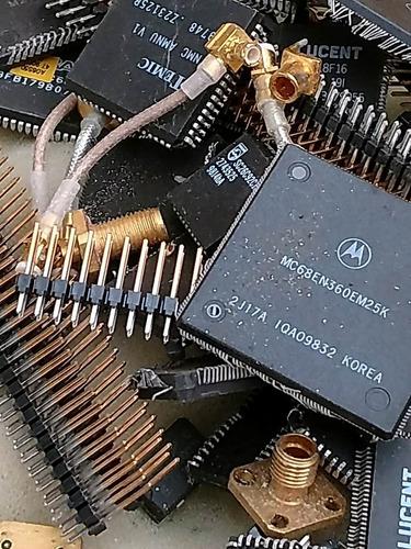 oro para practicas de extraccion de scrap electronico.