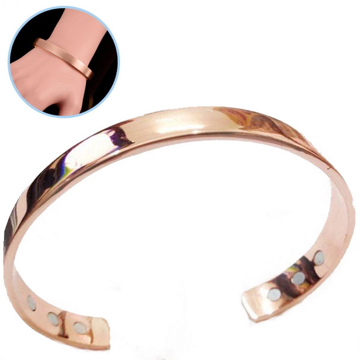 Pulsera magnetica oro