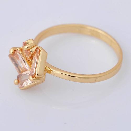 oro topacios anillo