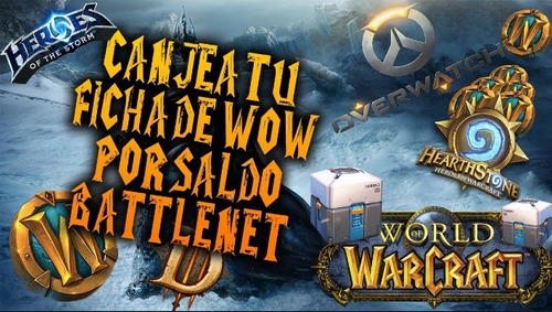 oro wow (100k) ~ saldo battle.net ~ cambio raza ~ ragnaros