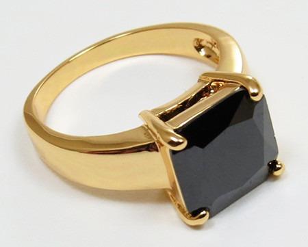 oro zafiro anillo