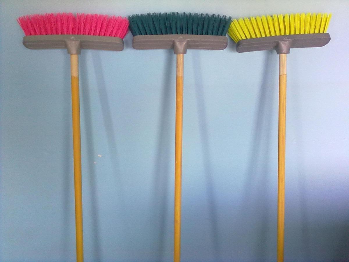 Oropinza escobas cepillo para piso sin baston - Escobas de palma ...