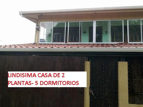 orotina casa 2 plantas - 5 dormitorios / parte financiada