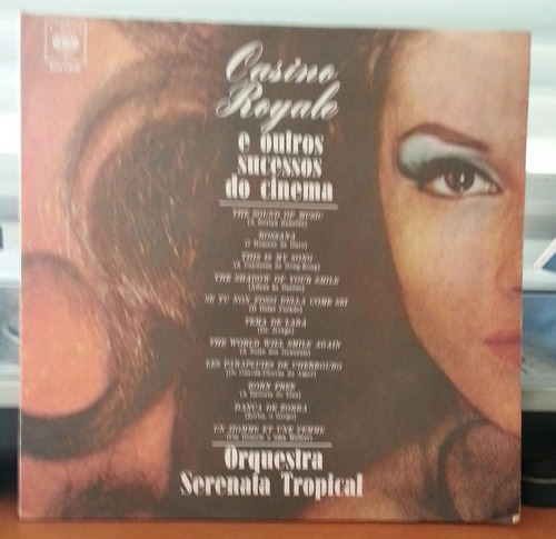orq. serenata tropical-cassino royale + sucessos do cinema(l