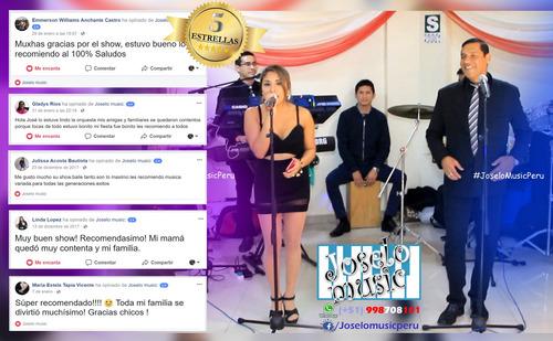 orquesta digital completa conjunto musical criollo lima peru