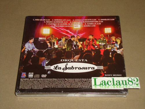 orquesta la sabrosura homenaje ramon rodri 12 sony cd + dvd