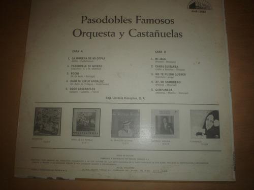 orquesta y castañuelas - lp pasodobles famosos
