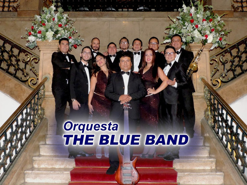 orquestas...the blue band