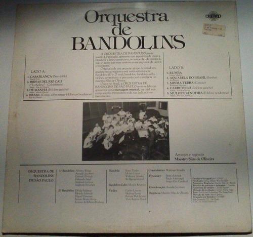 orquestra de bandolins - 1986 - lp / disco de vinil