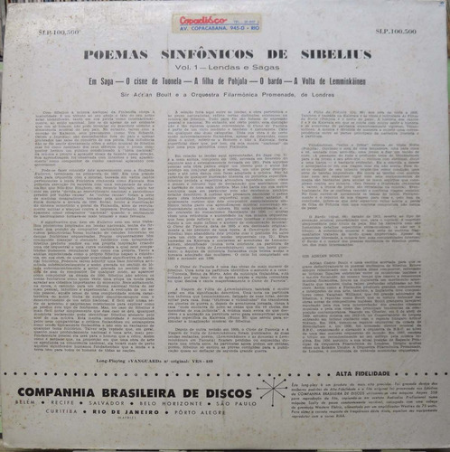 orquestra filarmonica de londres poemas lendas sagas lp
