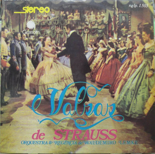 orquestra waldemiro lemke valsas strauss lp girason stereo