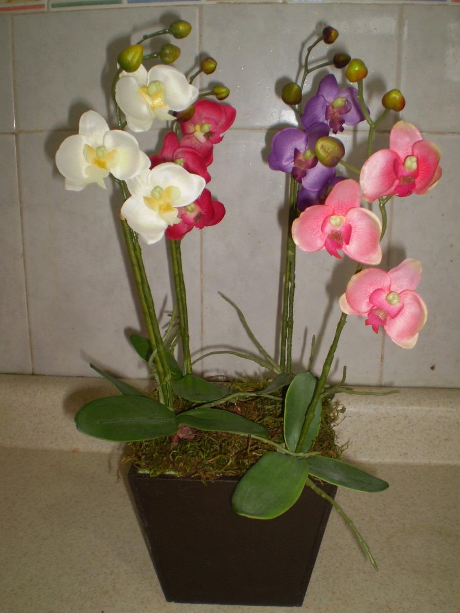 Orquidea artificial en mercado libre - Macetas para orquideas ...
