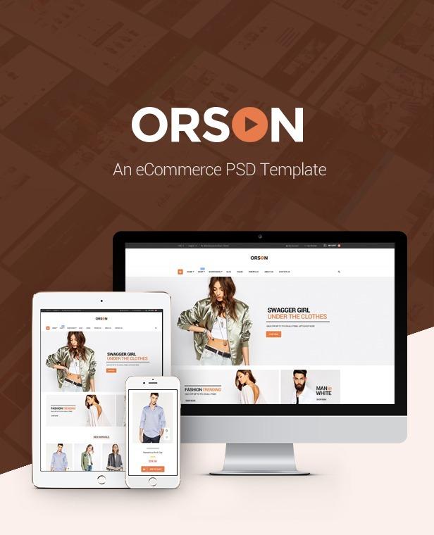 Orson - Tema Innovador De Wordpress Sobre Comercio Electróni ...