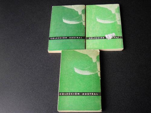 ortega y gasset josé  (3 libros)