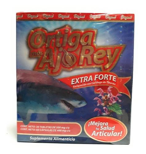 ortiga mas ajo rey extra forte original duo (3 pzs)  full