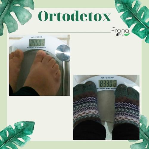 ortodetox, desintoxicación ortomolecular