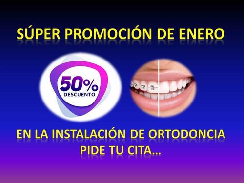 ortodoncia, odontología general y estética, cirugía.
